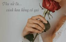 STT nếu phụ nữ là hoa hồng thì hãy là cánh hoa hồng có gai