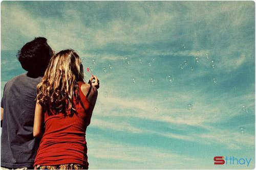 Những dòng status yêu thương - Định mệnh đưa anh đến bên em