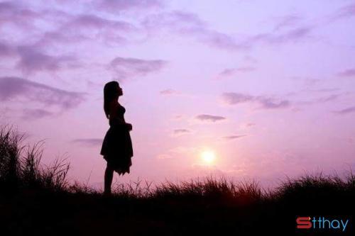 Gửi nỗi buồn trong những stt chiều hoàng hôn đẹp mà hoang hoải bao thương nhớ