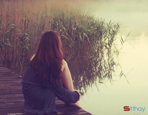 Status chênh vênh Tình yêu kết thúc cũng giống như mặt trời lặn đi...