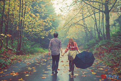 Stt cùng anh đi khắp thế gian bên nhau những ngày tháng ngọt ngào, an yên