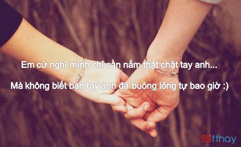 Những stt buồn và xúc động nhất về sự buông tay – từ bỏ