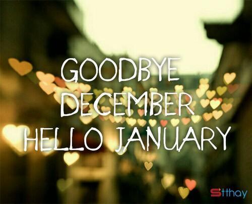 Status tháng 12, tạm biệt năm cũ và khép lại những buồn vui đã qua