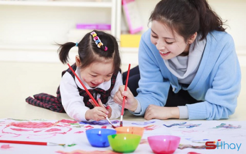 Trò chơi là điểm mẫu chốt trong việc nuôi dạy trẻ thông minh