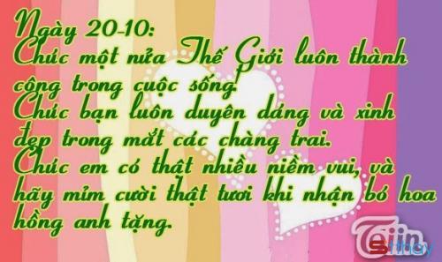 Những status ngọt ngào dành cho nửa thế giới nhân ngày phụ nữ Việt Nam