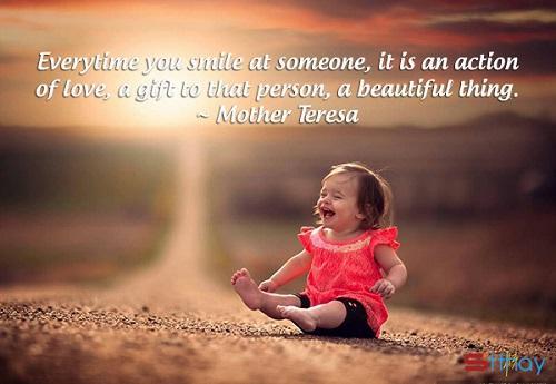 Tổng hợp những stt hay thế giới sẽ sáng bừng khi chúng ta mỉm cười