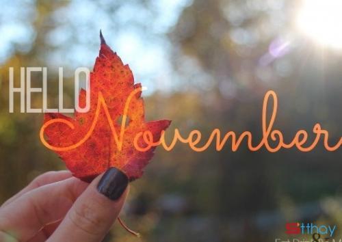 Stt chào đón tháng 11 về ta miên man với dòng cảm xúc không tên, cô đơn và lạnh lẽo
