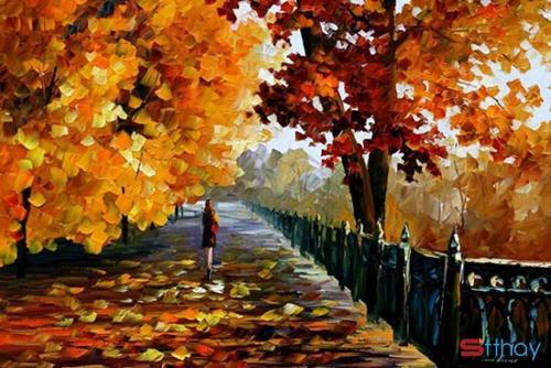 Mùa thu dịu dàng và những tâm hồn cô đơn