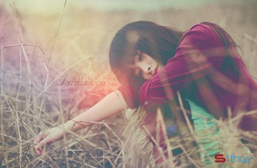Những status buồn bã - Yêu một người không thương mình