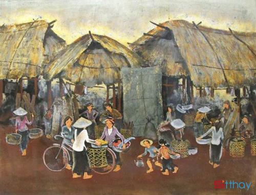 Những câu ca dao dân ca hay và đặc sắc về chợ quê