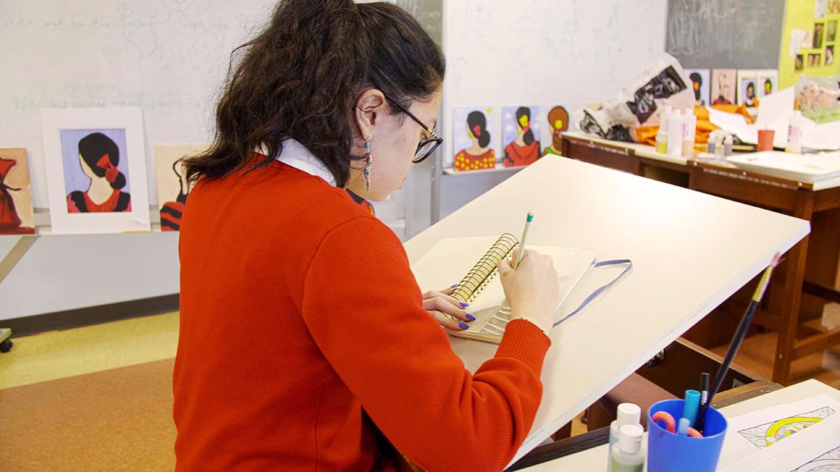 art student 1200