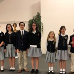 essay contest group photo