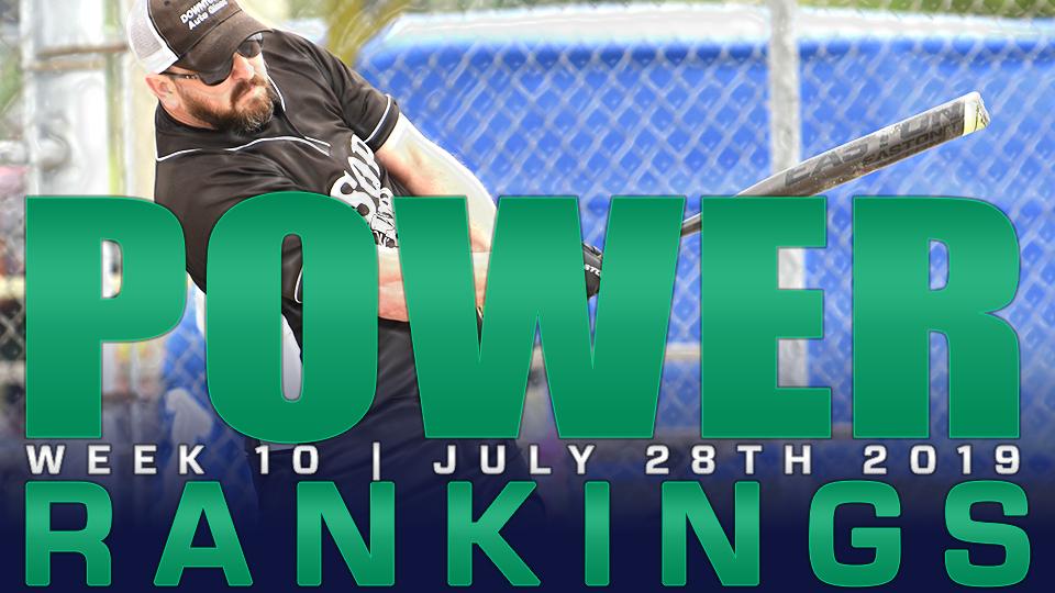 2019 POWER RANKINGS: Week 10 | July 28th- Doubleheader #2