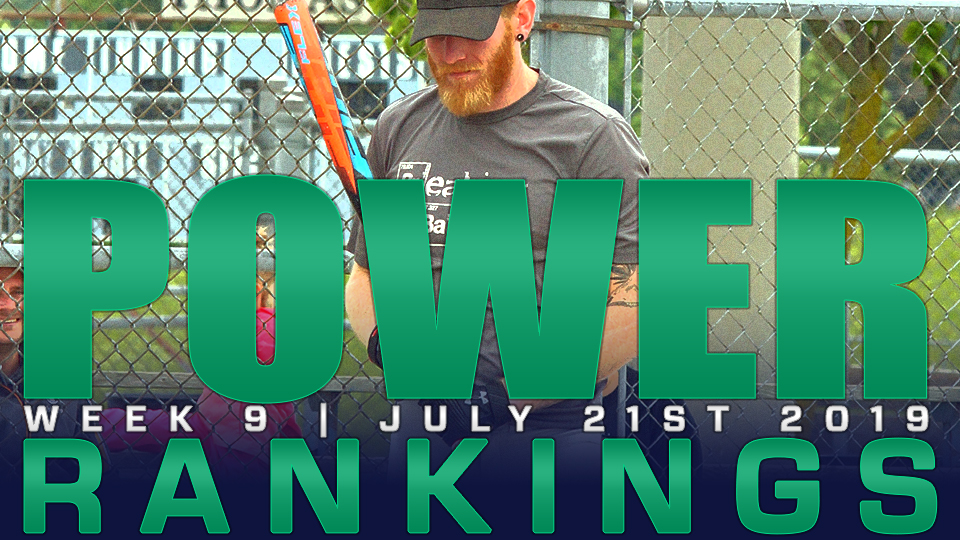 2019 POWER RANKINGS: Week 9 | July 21st