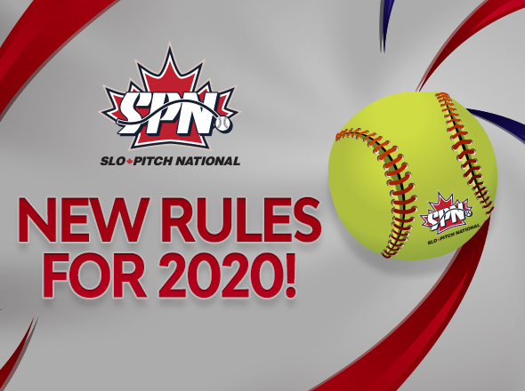 2020 Slo-Pitch National Rulebook and Policy Changes