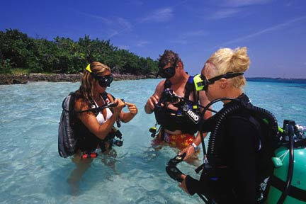 St Thomas scuba excursion