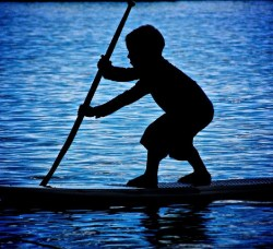 Children's stand-up paddle board races will be featured at the second annual V.I. Get Up Stand Up Races on Sunday at Brewers Bay.