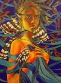 Donna Uccello (Bird Woman) by Edie P. Johnson
