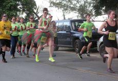 Fa…La…La…La…La…La Group Cane Bay 5-Mile Jingle Bell Run…Cane Bay Beach, St. Croix…(photo: V.I.Pace Runners)