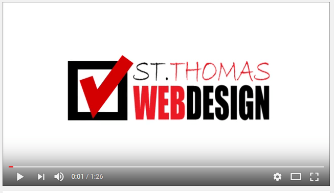 St Thomas Web Design Video Marketing