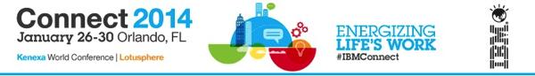 IBM Connect 2014 banner