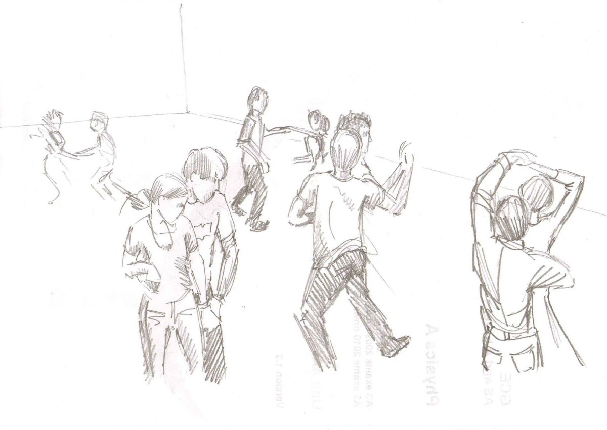 Modern jive sketch