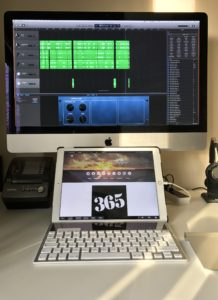 My iMac/iPad Pro/Duet setup