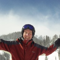 The sun came out in the afternoon at Jackson Hole