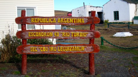 Argentina - Chile border near Puerto Natales