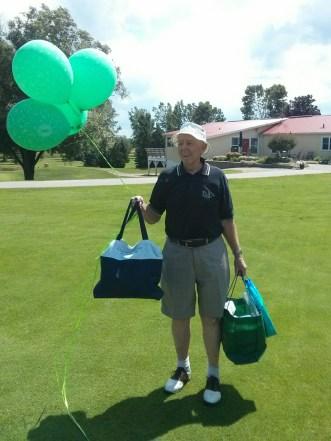 Dad's 80th (Pinelands Golf, Rockton)