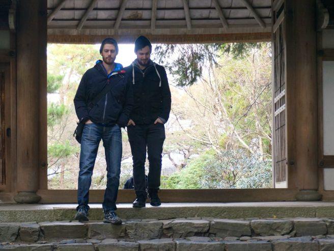 Philosopher's walk in Kyoto