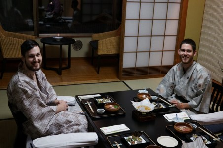 Ryokan dinner