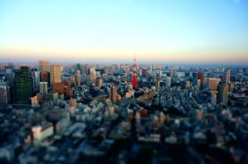 Tokyo sunset from Mori Sky View - 01