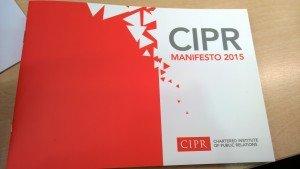 CIPR Manifesto photo