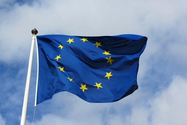 European flag photo