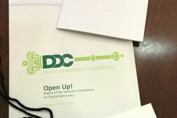 Best Practice Guide for MPs Using Twitter for Open Up! - Speaker's Commission on Digital Democracy 1