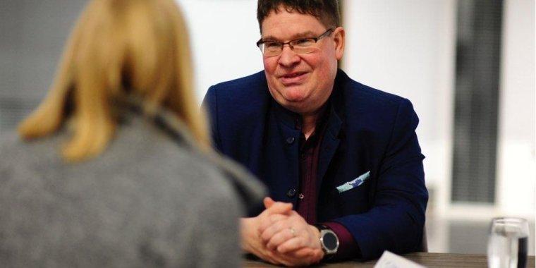 Stuart Bruce at future of public relations event photo