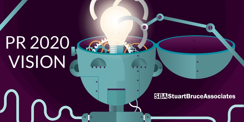 PR 2020 vision – AI, professional development, measurement, purpose