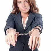 lady in handcuffs