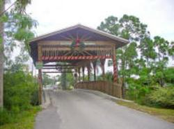 Covered Bridge, Rustic Hills, Palm City, Florida