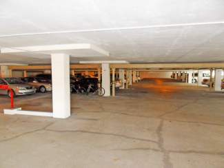 Under Building Parking for the Suntide Condo on Hutchinson Island