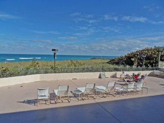 Sundeck of the Suntide Condo on Hutchinson Island