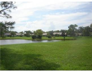 Egret Pond in Martin Downs