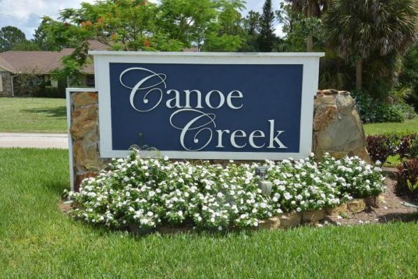Canoe Creek in Palm City FL