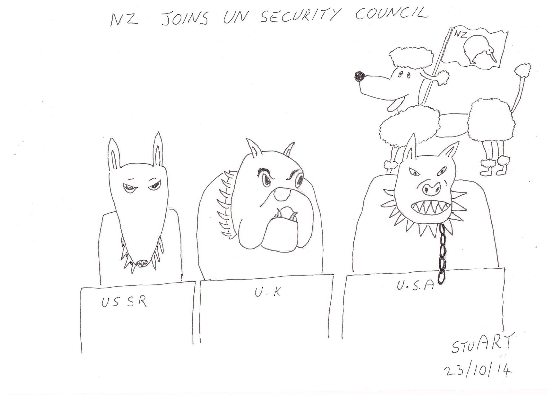 Nz Joins United Nations Security Council