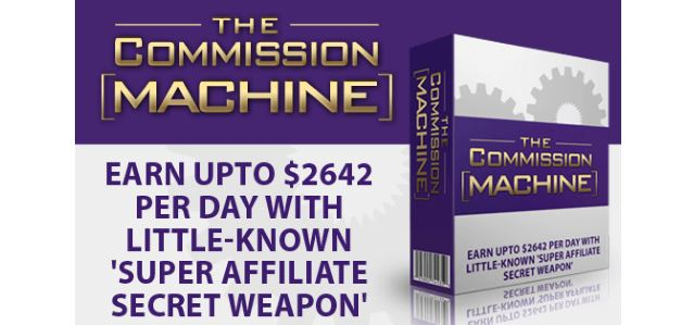The commission machine