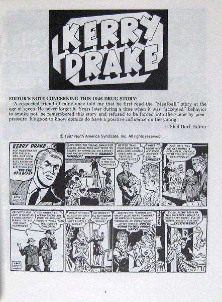 Comic Amp Sequential Art Golden Amp Silver Age 1938 1970 Kerry Drake Book 5 Reuben Award