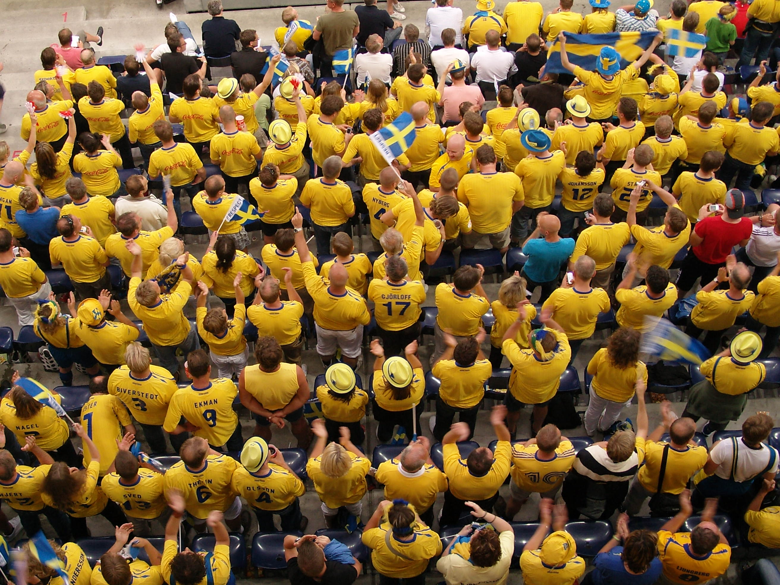 A birds eye view of the Swedes