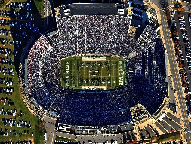 Blue Out stadium