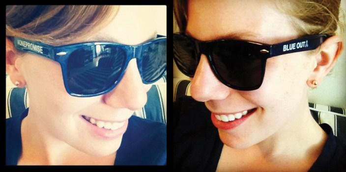 Blue Out Sunglasses